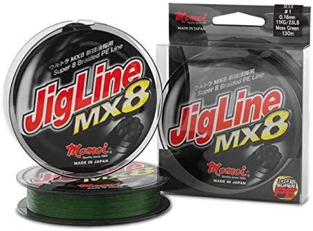 MOMOI JigLine MX8 - 0.26mm, 22.5kg, 150m