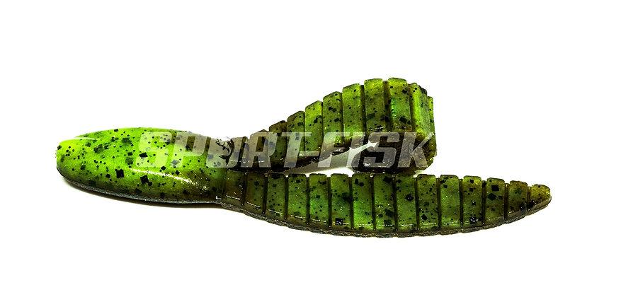 KEITECH Flex Chunk - Green Pumpkin Chartreuse