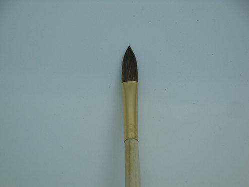 #8 Flat Kolinski Sable Acrylics Brush