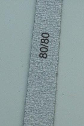 80/80 Grit Zebra Files, 10 count