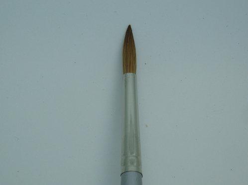 #8 Nailogic Round Sable Acrylics Brush