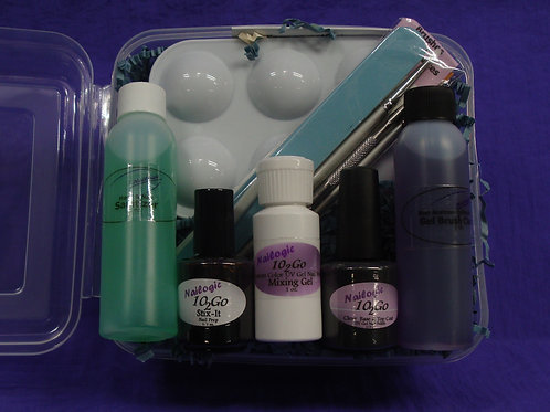10-2Go Custom Color Gel Polish Kit