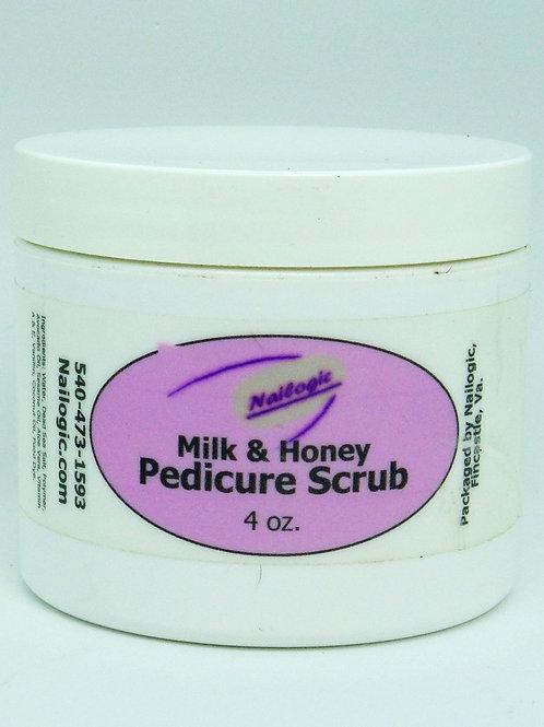Nailogic Milk&Honey pedicure salt Scrub
