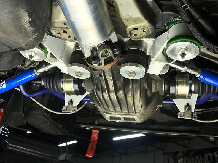 BMW E46 Ford 8.8 Differential