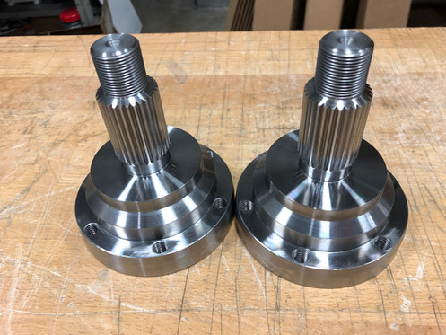 Billet BMW Outer Axle Stubs