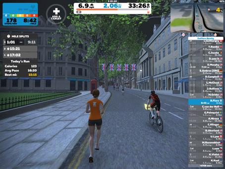 Zwift Run App Delivers