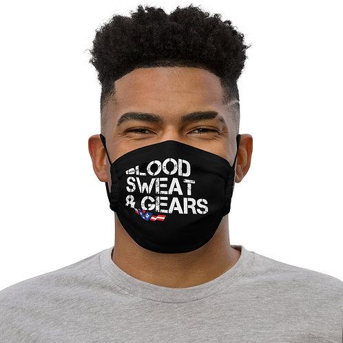 Blood, Sweat, & Gears Mask