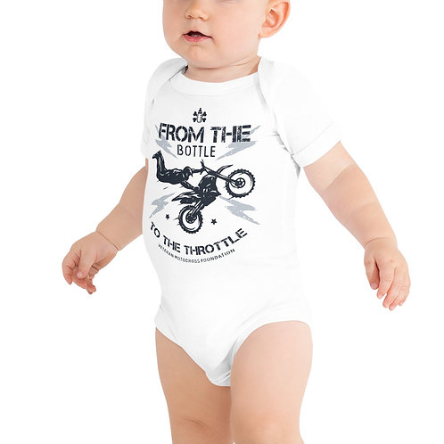 Baby Onesie - From the Bottle to the Throttle