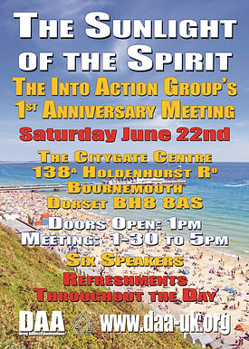 INTO ACTION (Bournemouth) : 1st Anniversary