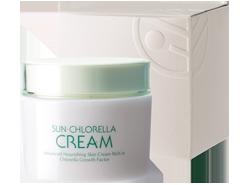 Sun Chlorella Cream, anti-ageing