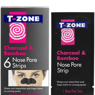 T-Zone Charcoal & Bamboo 6 Nose Pore Strips