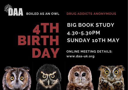 BOILED AS AN OWL- 4th Anniversary