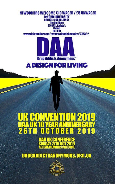 2019 UK CONVENTION & CONFERANCE: Oxford