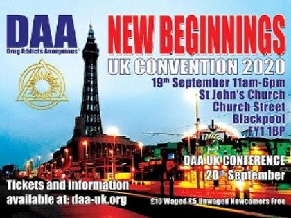 2020 UK CONVENTION (Blackpool)