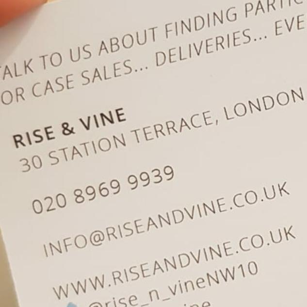 Rise & Vine, Kensal Rise