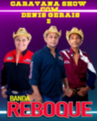 Banda Reboque e Caravana Denis Gerais