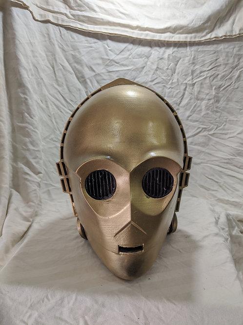 C3P0 Helmet