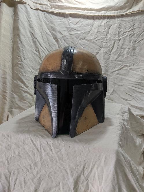 Custom Mando Helmet