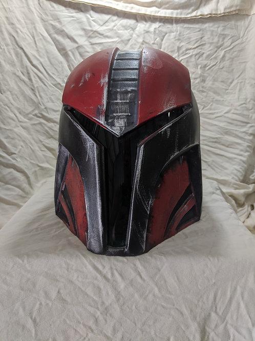 Retro-Crusader Mandolorian Helmet