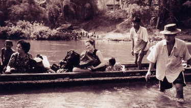 Crossing into Burma