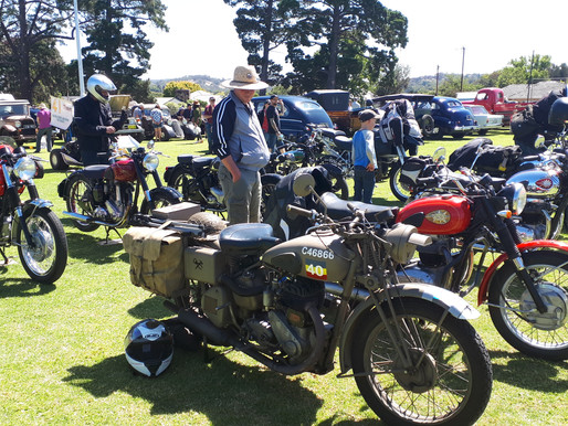 Club ride to the POWER OF THE PAST