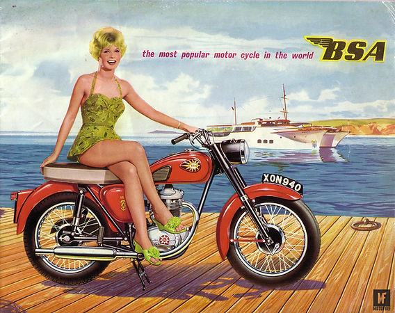 BSA 1960 brochure