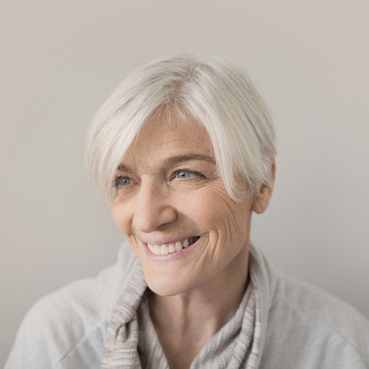 Sourire Femme âgée
