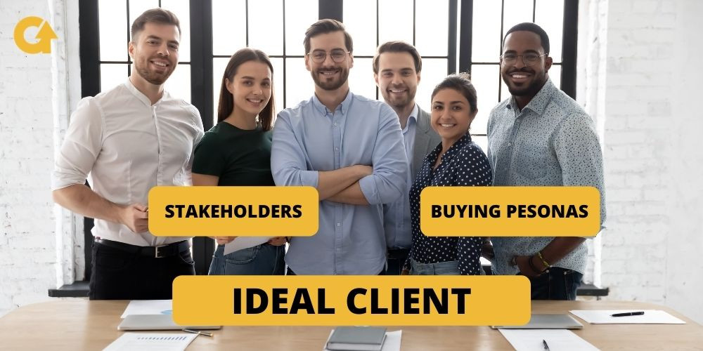 Make Sure You Know Who Are Stakeholders and Buying Personas at Your Ideal Client. GrowMy.Tech for Software Houses.