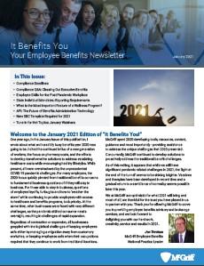 It Benefits You - Jan 2021