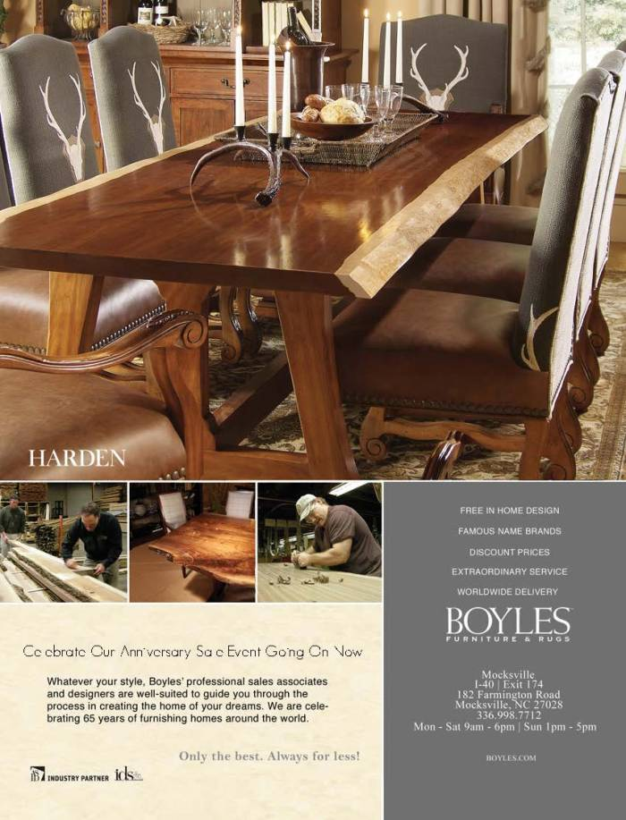 Boyles Print Ad