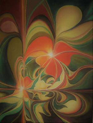 PASTEL contemporaine abstraite