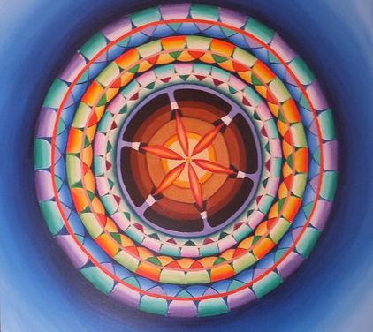 mandala contemporain