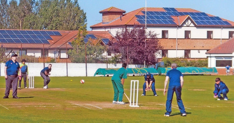 2015 - A visually impaired match held at the ground