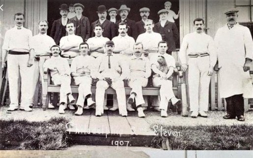 1907 - 1st XI and officials
