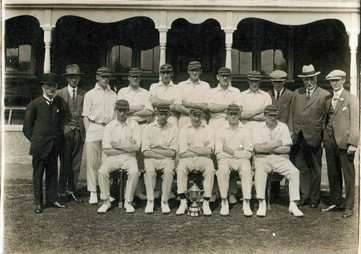 1920s - 1st XI and Club officials