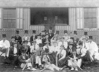 1894 - Ladies v Gents match