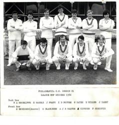 1986 - 2nd XI - Durham Senior League Cup Winners