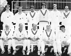 2002 - 1st XI in our inaugural season in the NEPL