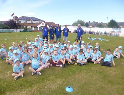 All Stars Cricket is the England and Wales Cricket Board's entry level participation programme, aimed at providing children aged five to eight with a great first experience in cricket.