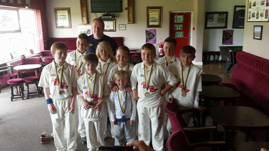 2015 - U11s - Bowl cup winners beating Durham City at Philadelphia in the final