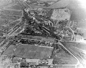 1965 - aerial view of the ground