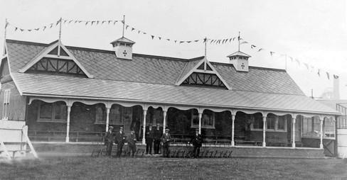 1924 - opening of new pavillion