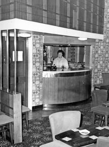 1967 - Nancy Gibson - Club's first stewardess