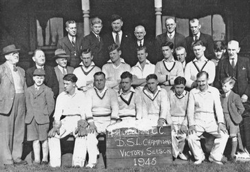 1945 - 1st XI Durham Senior League winners