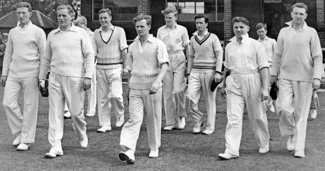 1954 - 1st XI at Wearmouth
