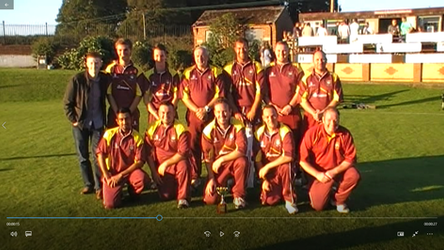 2014 - 1st XI - 1515 cup winners beating Whiteleas at Mainsforth in the final