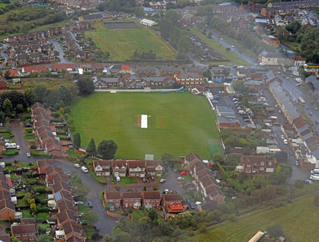 Aerial view of the ground