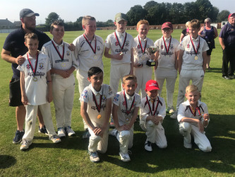2019 - U13s - league cup winners beating Gateshead Fell at Eppleton in the final