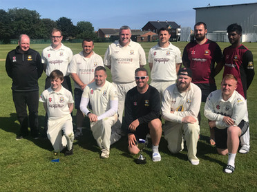 2019 - 1st XI - Frank Lees cup winners beating Horden at Horden in the final