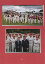 2018 - 150 years celebration -back page of the 150 years book specially produced for the occasion